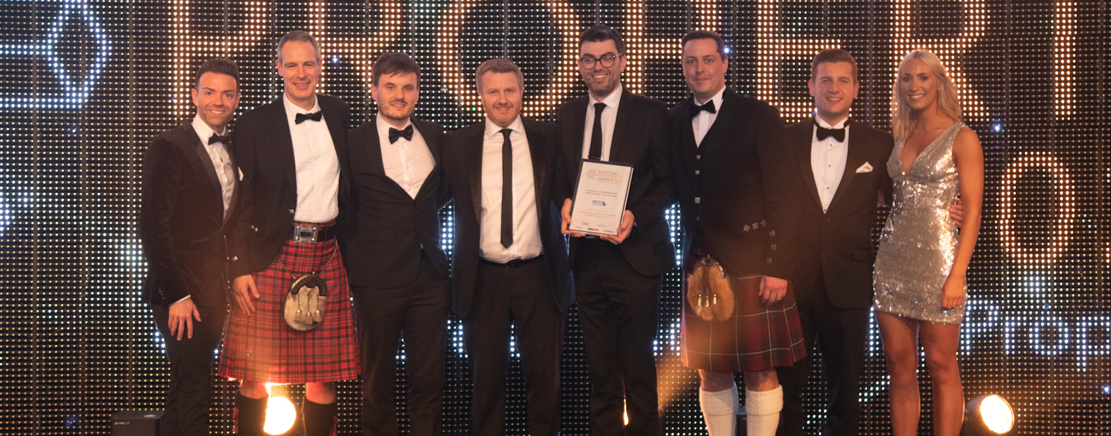 HLM Architects win at the Scottsh Property Awards