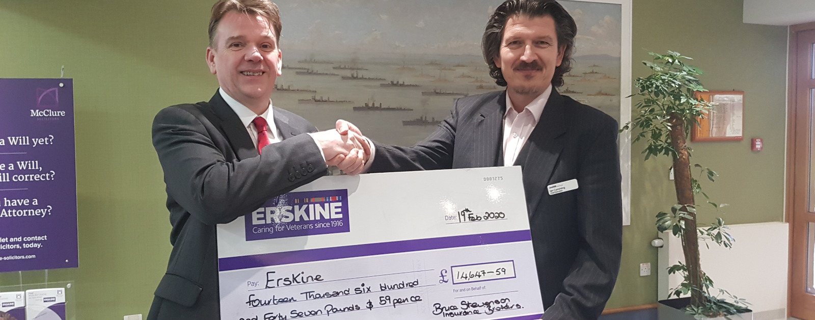 Thousands Raised For Our Charity of Choice – Erskine