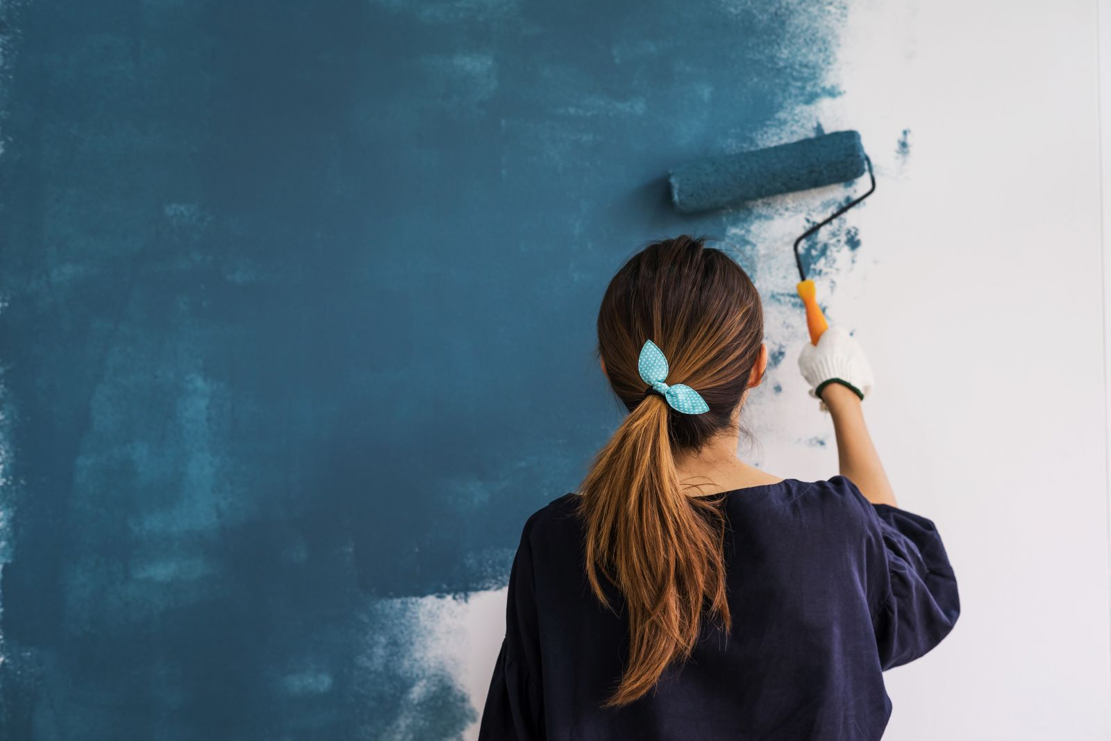 painting inside walls - home improvments